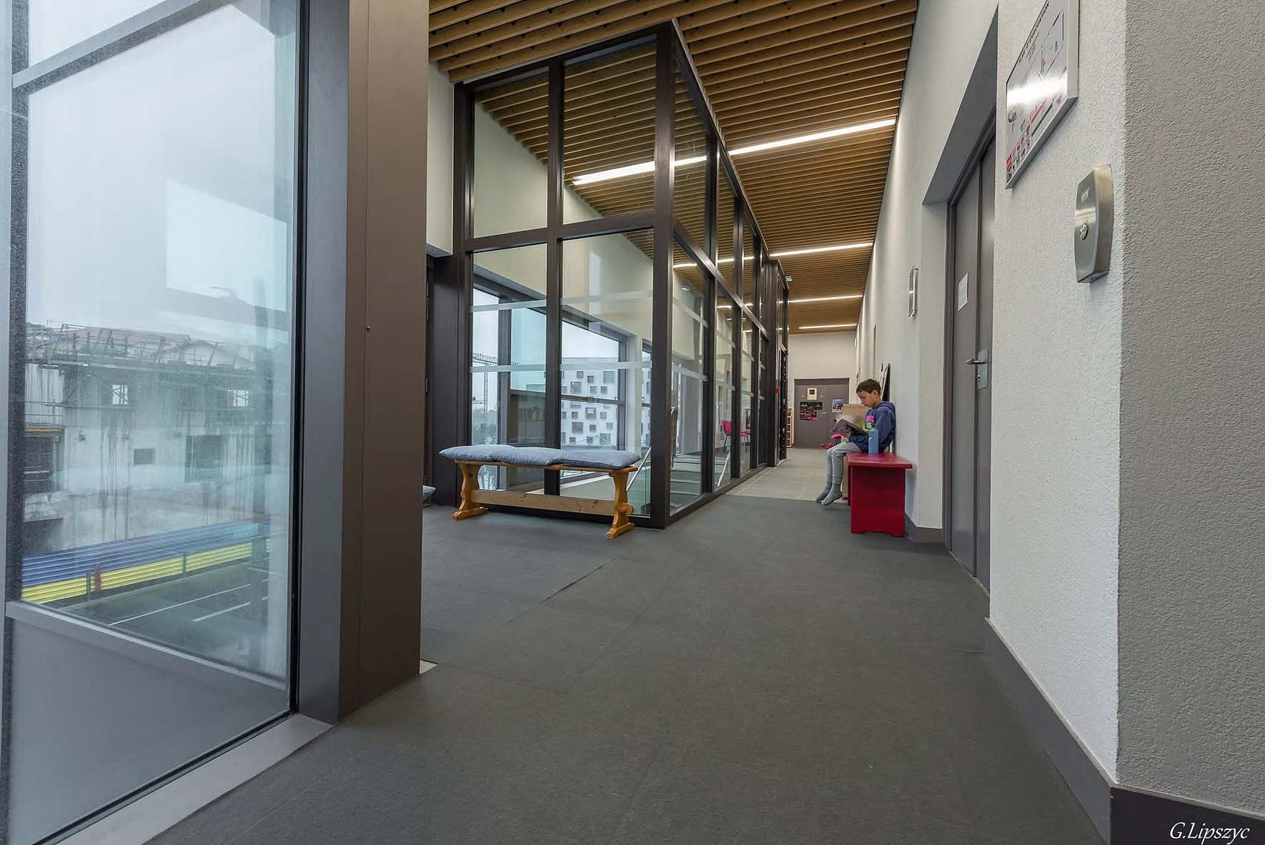 Couloir de l'école de Ballet - Studios Biarritz