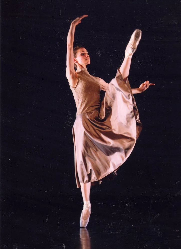 Célia reçue au jeune ballet de Genève- Suisse.