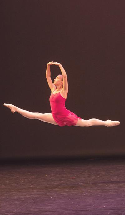 Danseuse de l'Ecole de Ballet - Studios de Biarritz 2