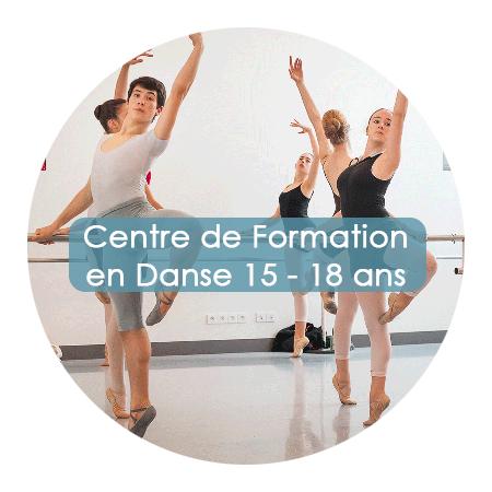 Ecole Ballet Biarritz centre de formation 15-18 ans