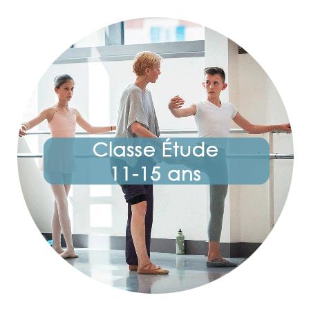 Ecole Ballet Biarritz classe étude 11-15 ans