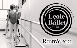 Ecole de Ballet Studios de Biarritz cours de danse pour enfants rentrée 2021